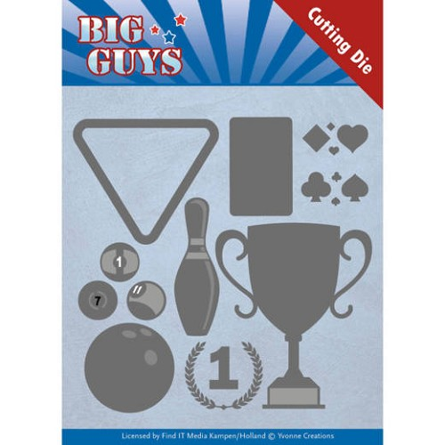 Yvonne Creations Stans - Big Guys - play to win
