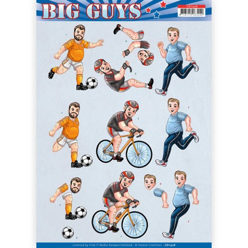 Knipvel Yvonne Creations - Big Guys CD11326