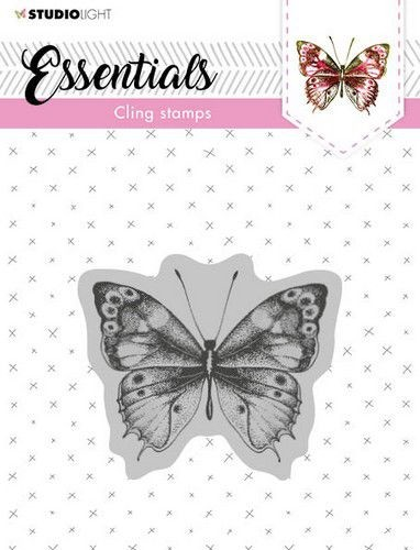 Studio Light Essentials Cling Stamp - vlinder