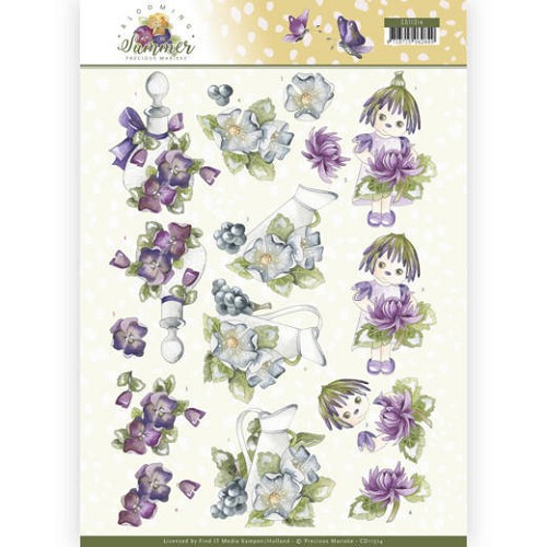 Knipvel Precious Marieke - Blooming Summer CD11314