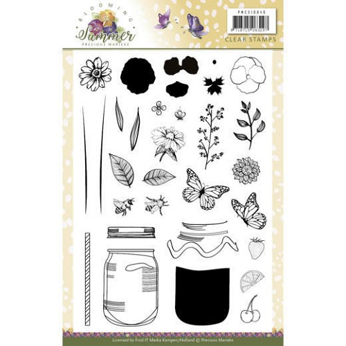 Clearstamps Precious Marieke - Blooming Summer