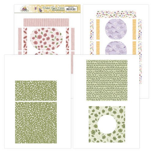 Printed Figure Cards - Precious Marieke - Blooming Summer