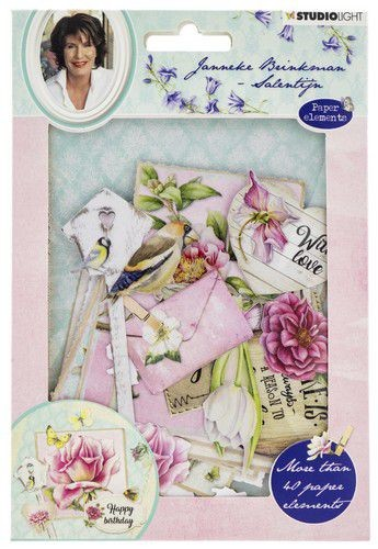 Studio Light Easy Die Cut Paper Set - Janneke Brinkman EASYJBS651