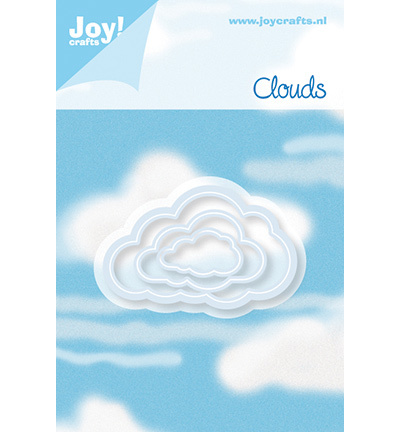 Joy Stencil - clouds