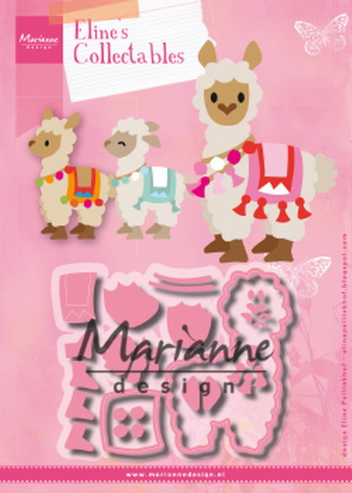 Collectables Marianne Design - Eline's Alpaca