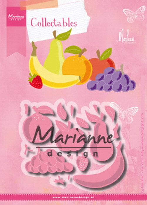 Collectables Marianne Design - Fruit by Marleen