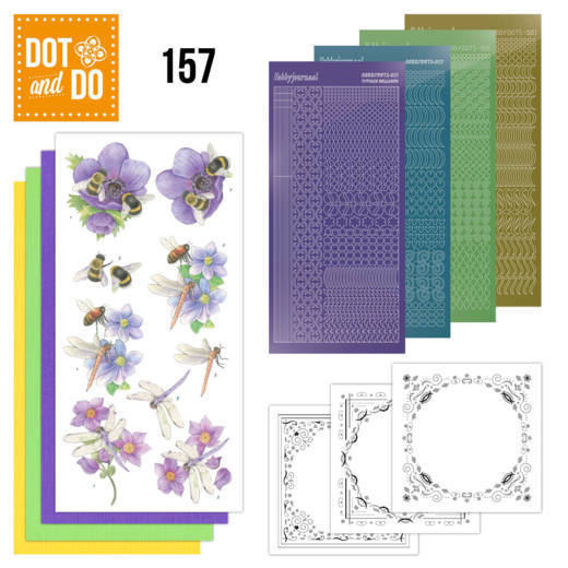 Dot & Do Hobbydots Pakket - bees and dragonflies