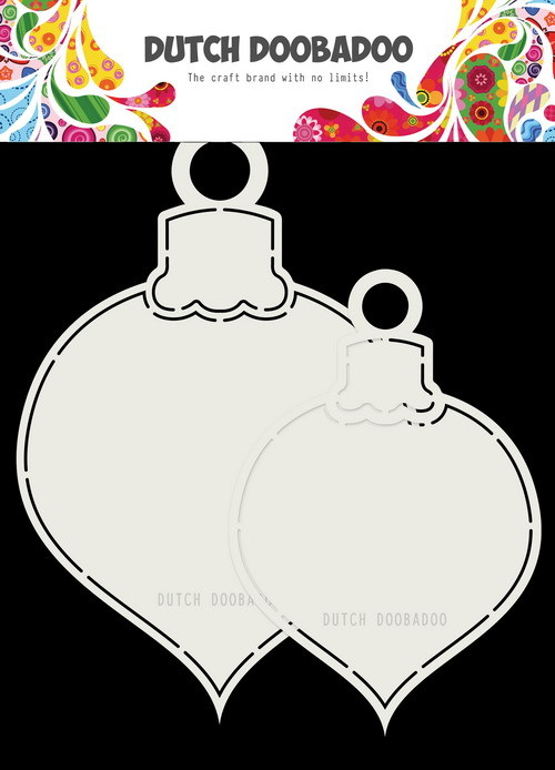 Dutch Doobadoo Shape Art - kerstballen A5