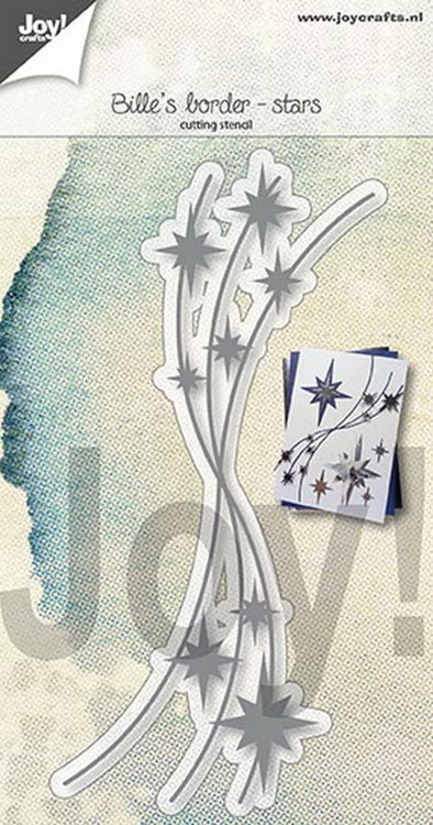 Joy Stencil - Bille's Border Stars