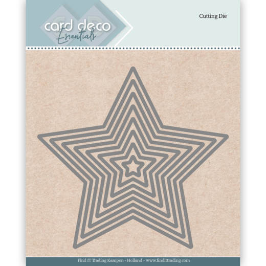 Card Deco Essentials Stans - star