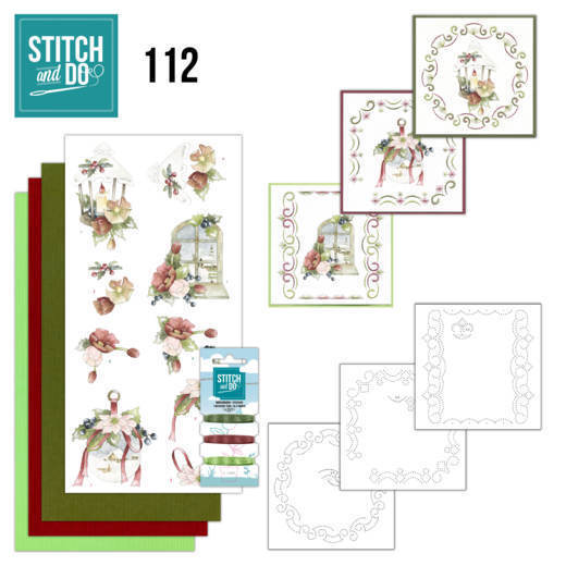Stitch and Do Pakket 112 - warm christmas