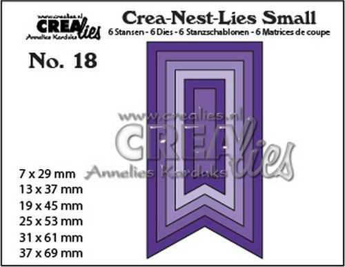 Crealies Stans - Crea-Nest-Lies Small no. 18