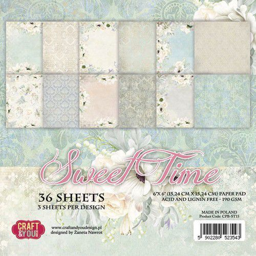 Paper Pad Craft & You - Sweet Time (6 x 6 inch)