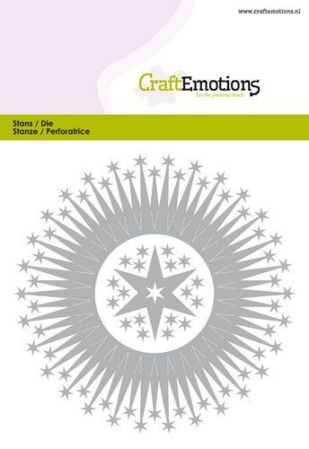 Craft Emotions Stans - border round magic stars