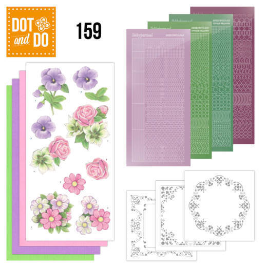 Dot & Do Hobbydots Pakket - summer flowers