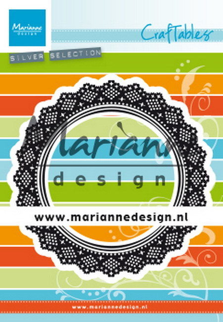 Craftables Marianne Design - shaker doily