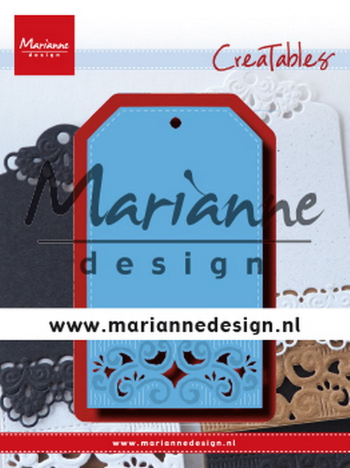 Creatables Marianne Design - classic label