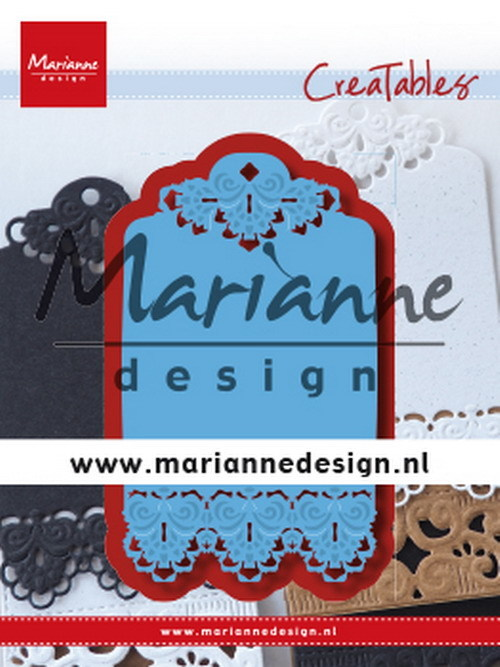 Creatables Marianne Design - brocante label