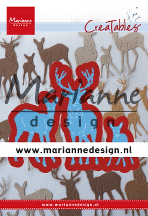 Creatables Marianne Design - Tiny's deer family
