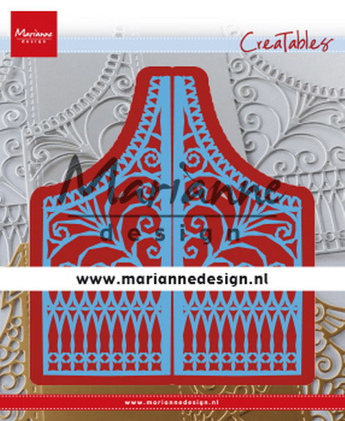 Creatables Marianne Design - gate folding
