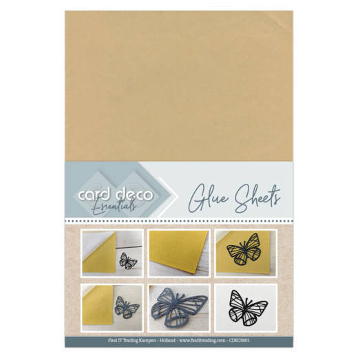 Card Deco Glue Sheets A4