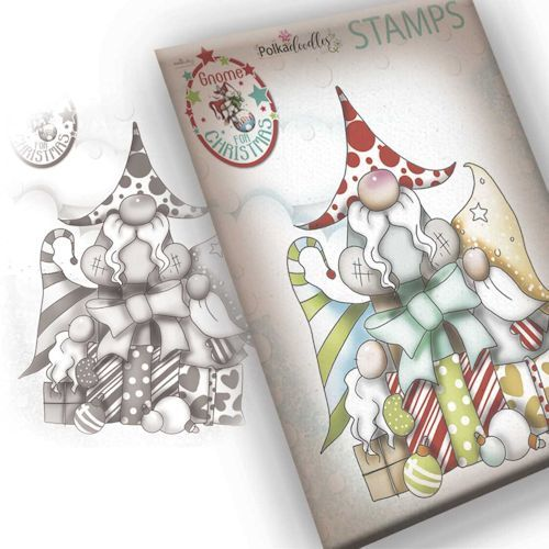 Polkadoodles Stempel - gift for christmas