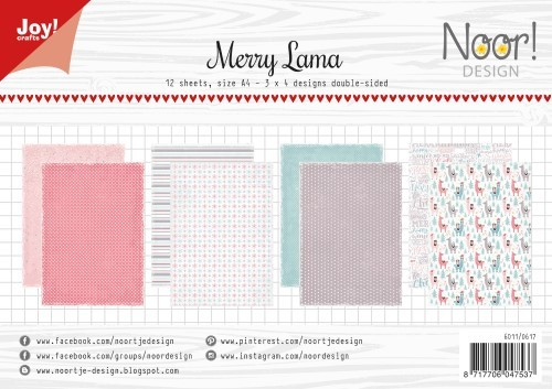 Joy Paper Pack - Merry Lama