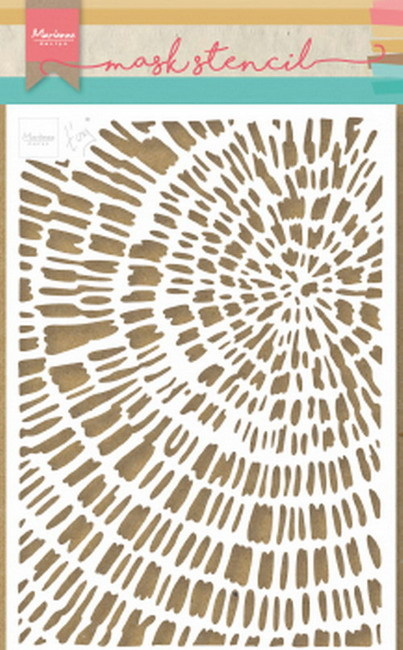 Marianne Design Mask Stencil - Tiny's Sliced Wood