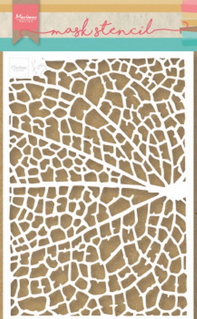 Marianne Design Mask Stencil - Tiny's Leaf Grain