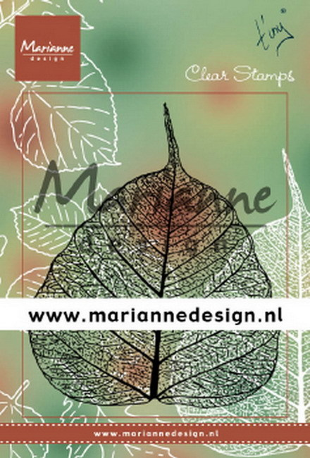 Clearstamps Marianne Design - Tiny's Leaf