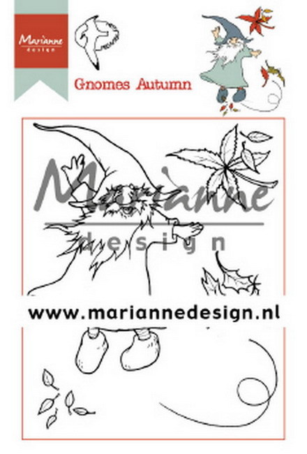 Clearstamps Marianne Design - Gnomes Autumn
