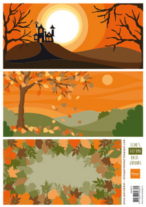 Knipvel Marianne Design - Eline's Autumn Backgrounds