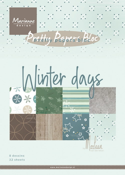 Pretty Papers Bloc - Winter Days