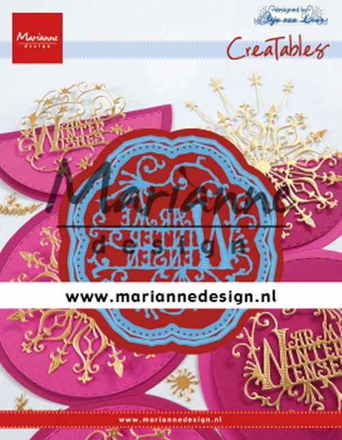 Creatables Marianne Design - Anja's Warme Winter Wensen