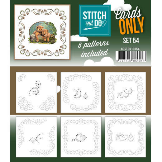Stitch and Do Cards Only - set 54