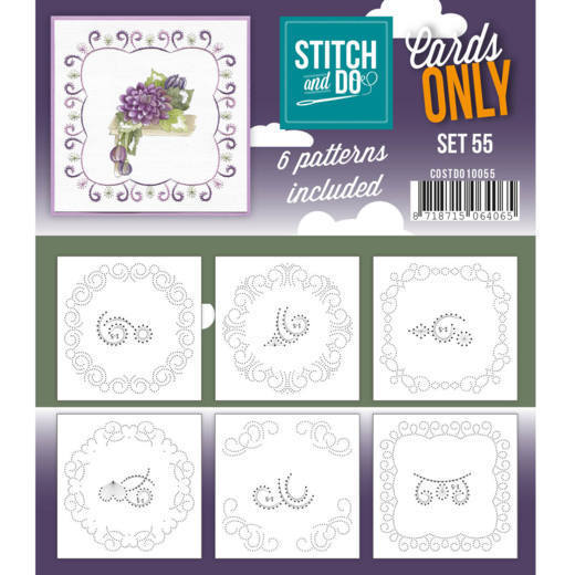 Stitch and Do Cards Only - set 55