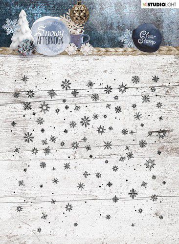 Clearstamp Studio Light - background Snowy Afternoon STAMPSA401