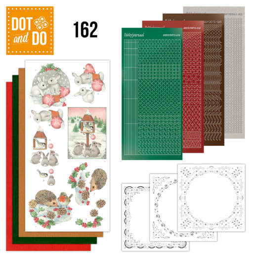 Dot & Do Hobbydots Pakket - hedgehog and rabbits