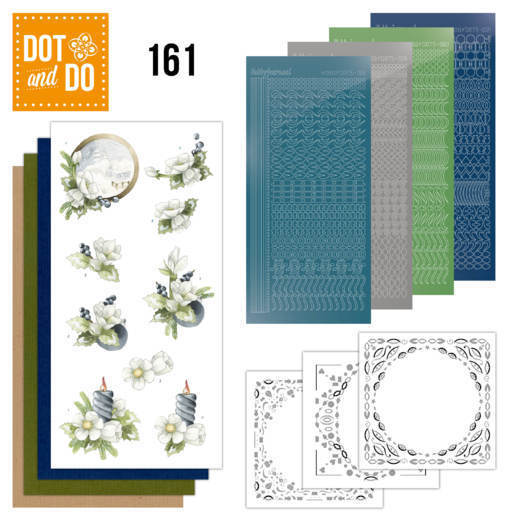Dot & Do Hobbydots Pakket - amaryllis and blueberries