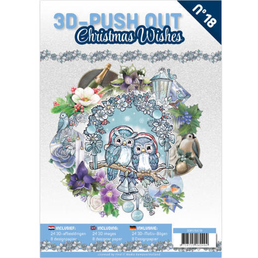3D Push Out Book - Christmas Wishes
