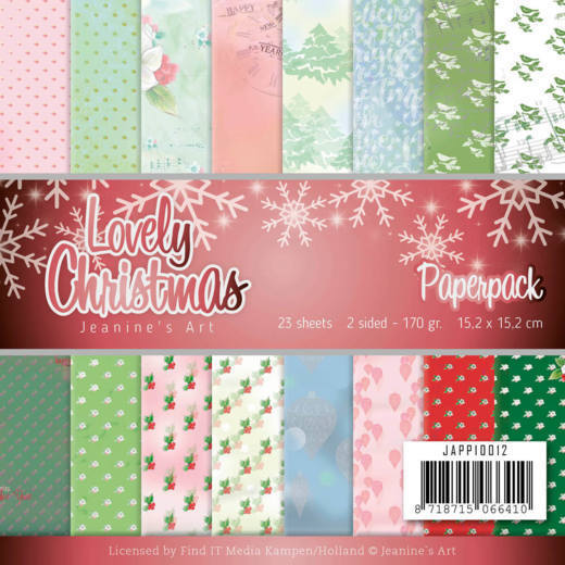 Paper Pack Jeanine's Art - Lovely Christmas
