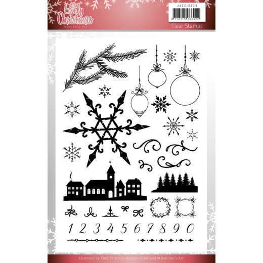 Clearstamps Jeanine's Art - Lovely Christmas