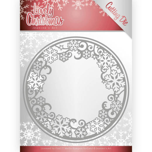 Jeanine's Art Stans - Lovely Christmas - lovely circle frame