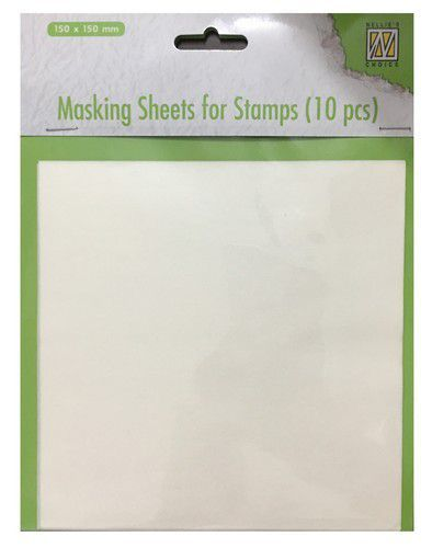 Masking Sheets for Stamps (Nellie Snellen)