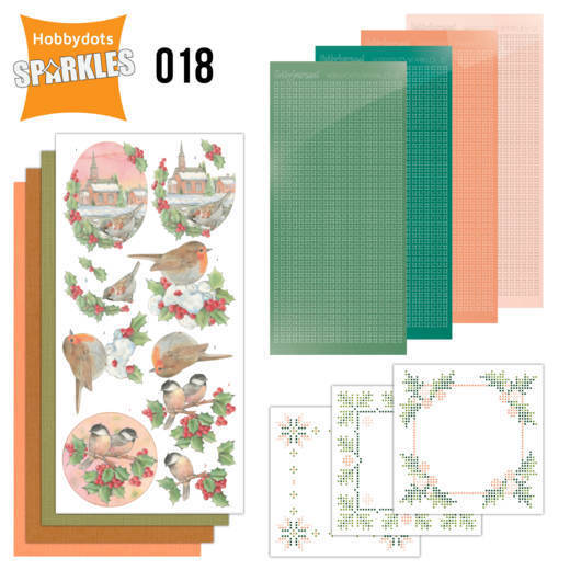 Hobbydots Sparkles Set 018 - lovely christmas