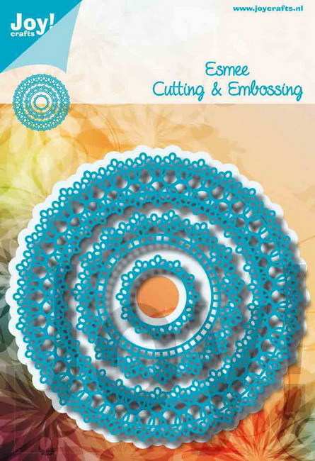 Joy Cutting & Embossing Stencil - Esmee
