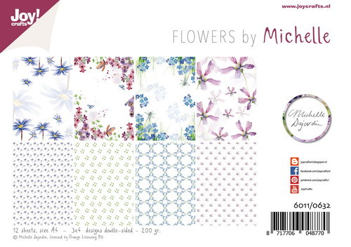 Joy Paper Pack - Flowers by Michelle