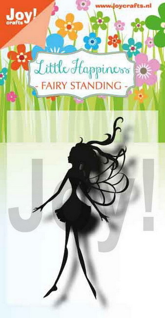 Joy Clearstamp - fairy standing