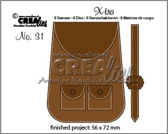 Crealies Stans X-tra - backpack
