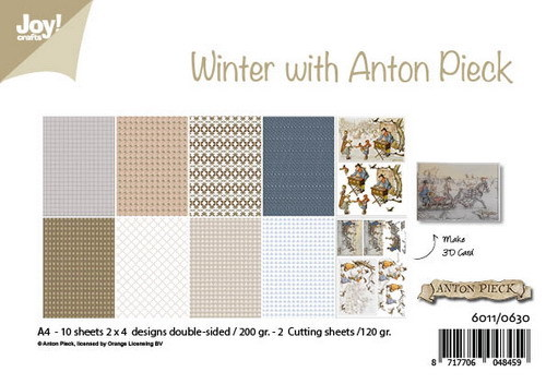 Joy Paper Pack - winter with Anton Pieck